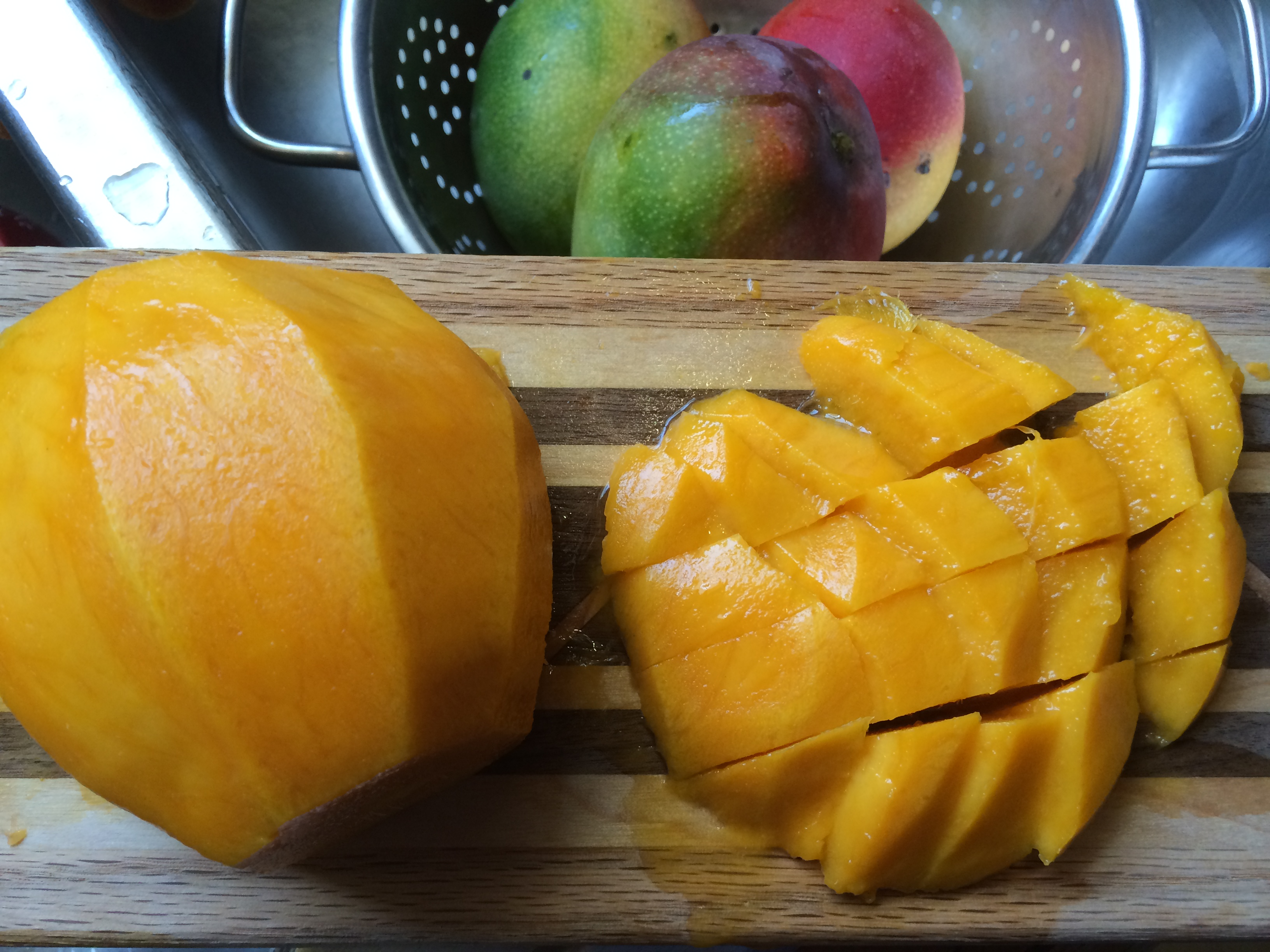 Peeled Mango- Blender Ready!